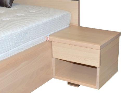 Noční stolek GALAXY, zásuvka