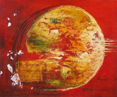 Obraz - Abstraktní míč