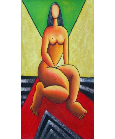 Obraz - Akt ženy bez tváře