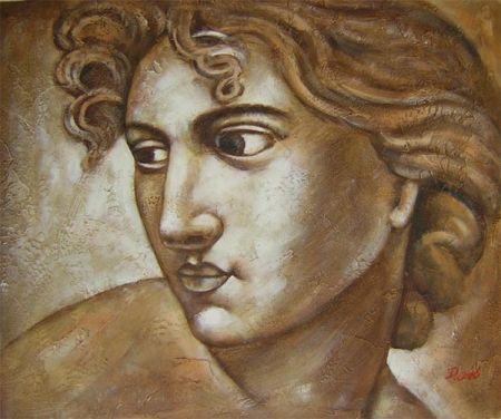 Obraz - Antický portrét