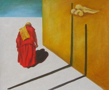 Obraz - Buddhistický kněz