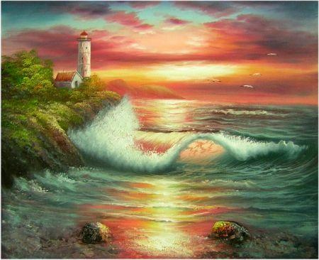 Obraz - Červánky na moři