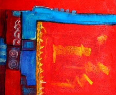Obraz - Červené mámení