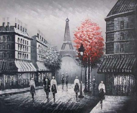Obraz - Červený strom