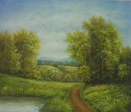 Obraz - Cesta do lesa
