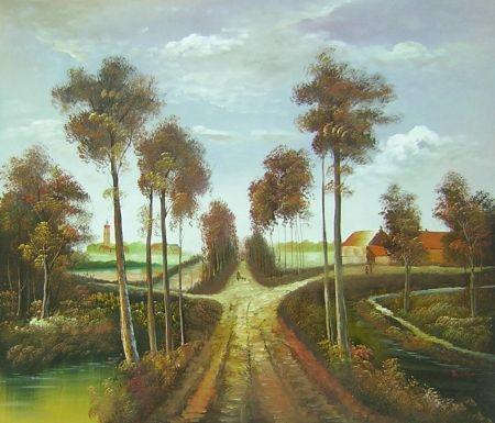 Obraz - Cesta k hradu