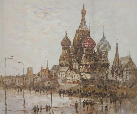 Obraz - Chrám Vasila Blaženého