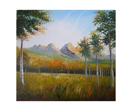 Obraz - Dálné hory
