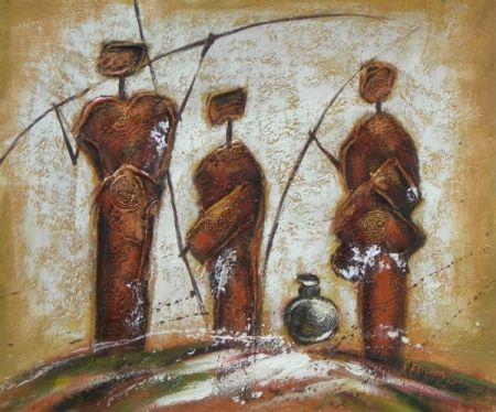 Obraz - Domorodý kmen