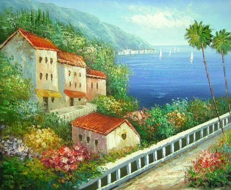 Obraz - Dům u moře