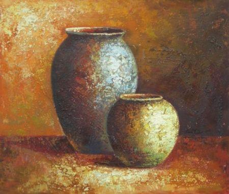 Obraz - Hliněné nádoby