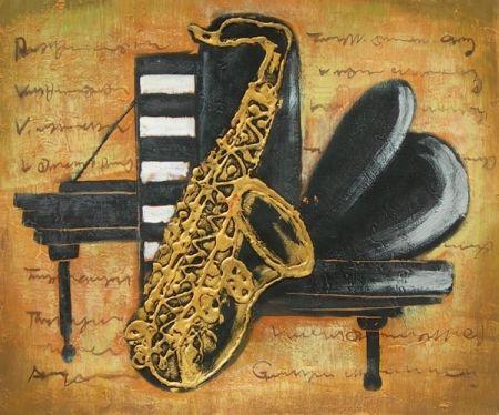 Obraz - Hudební instrumenty