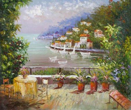 Obraz - Italský výhled