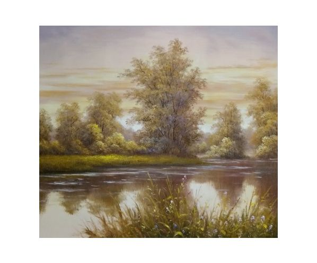 Obraz - Jaro u vody