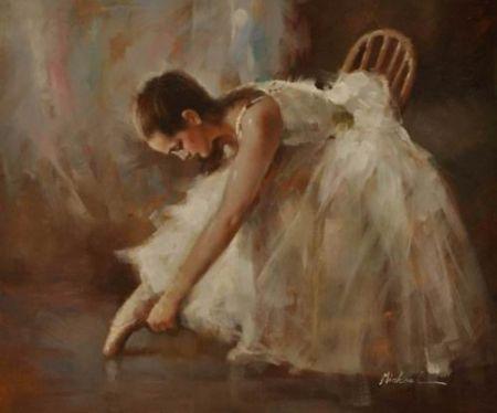Obraz - Jdu tančit