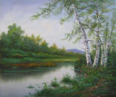 Obraz - Klidná řeka