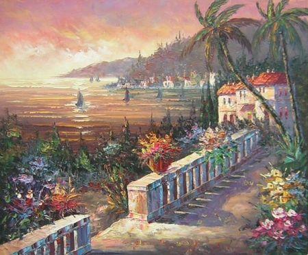Obraz - Krajina u moře