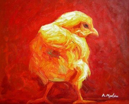 Obraz - Kuře