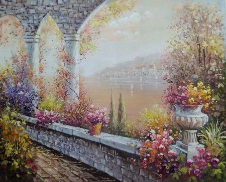 Obraz - Květinové arkády