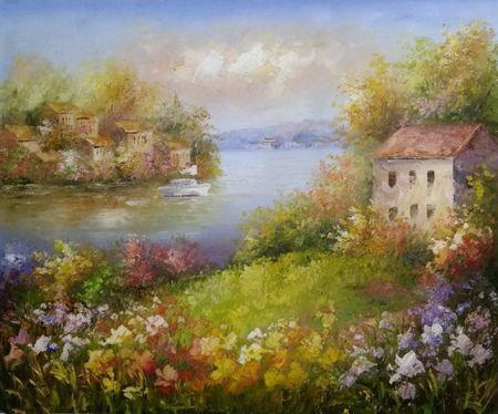Obraz - Květinový dům