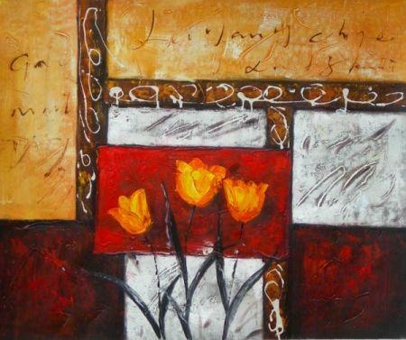 Obraz - Květy v rámu