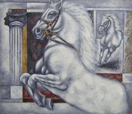 Obraz - Létající kůň