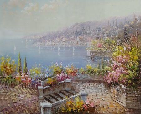 Obraz - Letní terasa