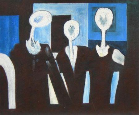 Obraz - Lidé bez tváří