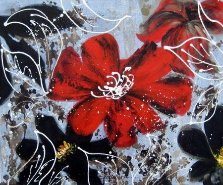 Obraz - Listový květ II.
