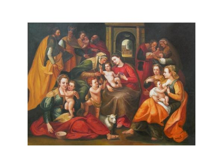 Obraz - Marie s Jezulátkem