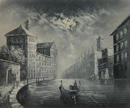 Obraz - Město duchů