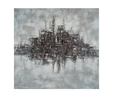 Obraz - Město v šeru
