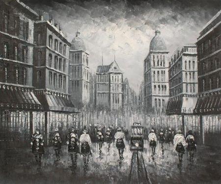 Obraz - Město