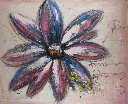 Obraz - Modročervený květ