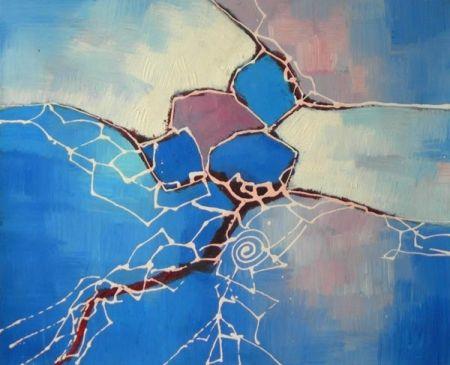 Obraz - Modrý sen