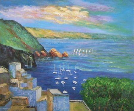Obraz - Mořské pobřeží