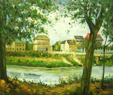 Obraz - Na kraji řeky