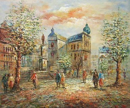 Obraz - Náměstí
