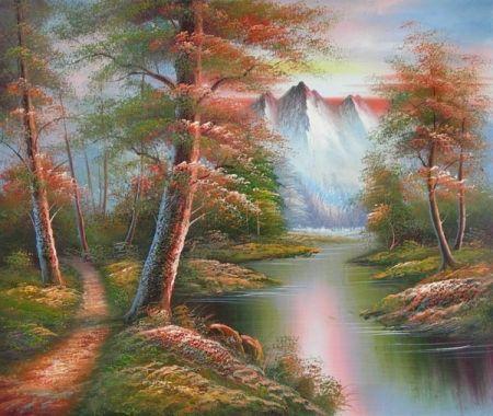 Obraz - Neverland na jaře