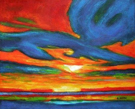 Obraz - Obloha
