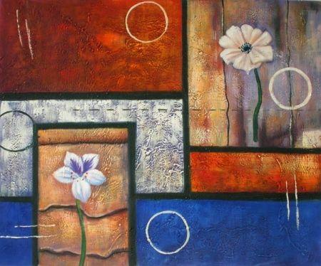 Obraz - Okno do květin