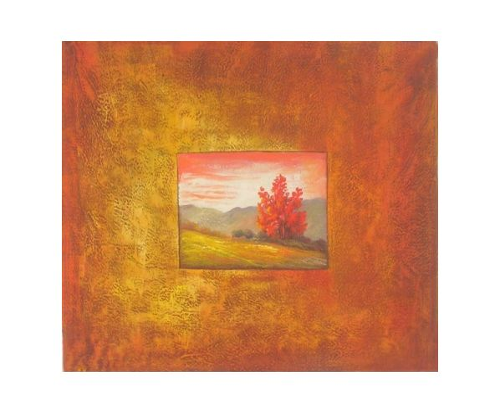 Obraz - Oranžový obraz