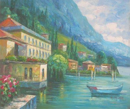 Obraz - Osamělá loďka