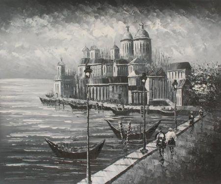 Obraz - Palác na pobřeží