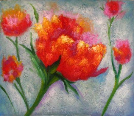 Obraz - Pár květů