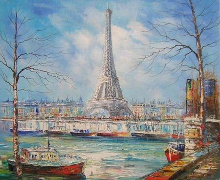 Obraz - Paříž