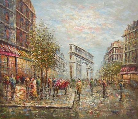 Obraz - Pařížký vítězný oblouk