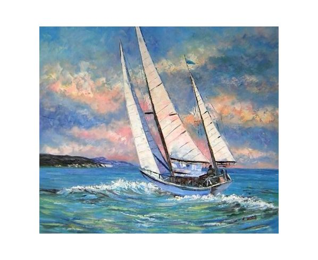 Obraz - Plachetnice na moři 11