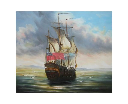 Obraz - Plachetnice na moři 4