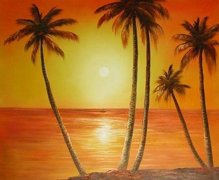 Obraz - Pláž při východu slunce